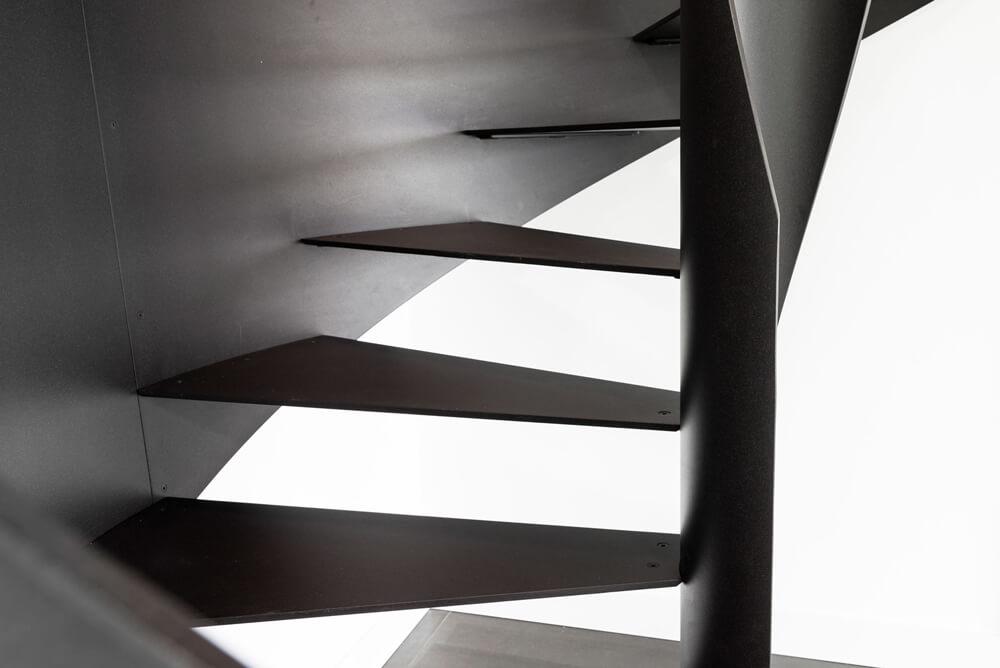 scalini per scala a chiocciola