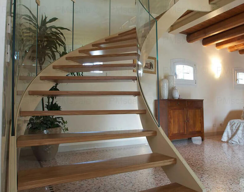 helical staircases - italian design