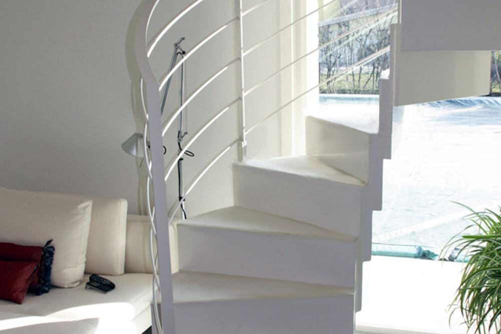 scalini per scala a spirale